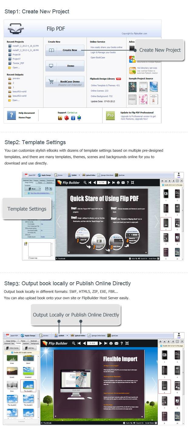 FlipBuilder Flip PDF 4.3.17
